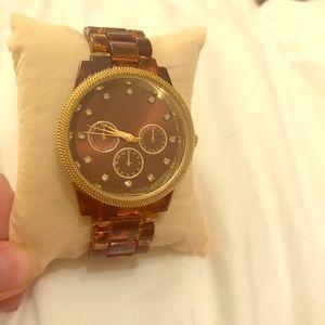 Target Tortoise Shell Watch